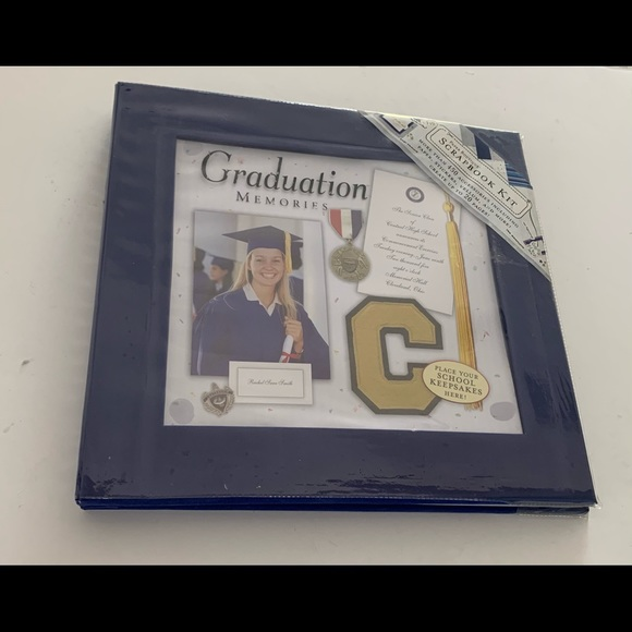 Graduation Scrapbook Kit -New
